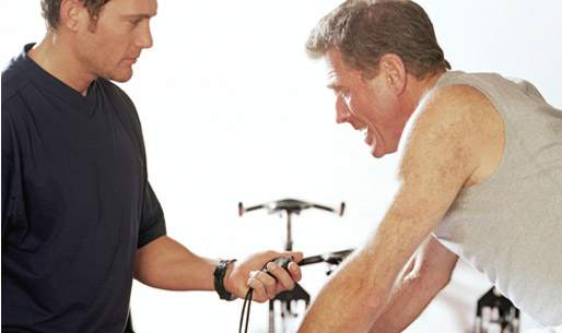 Senior Male Personal Training Session
